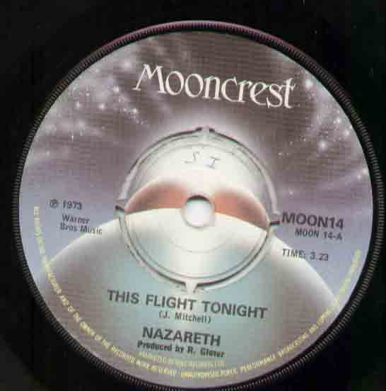 Nazareth - This Flight Tonight LP