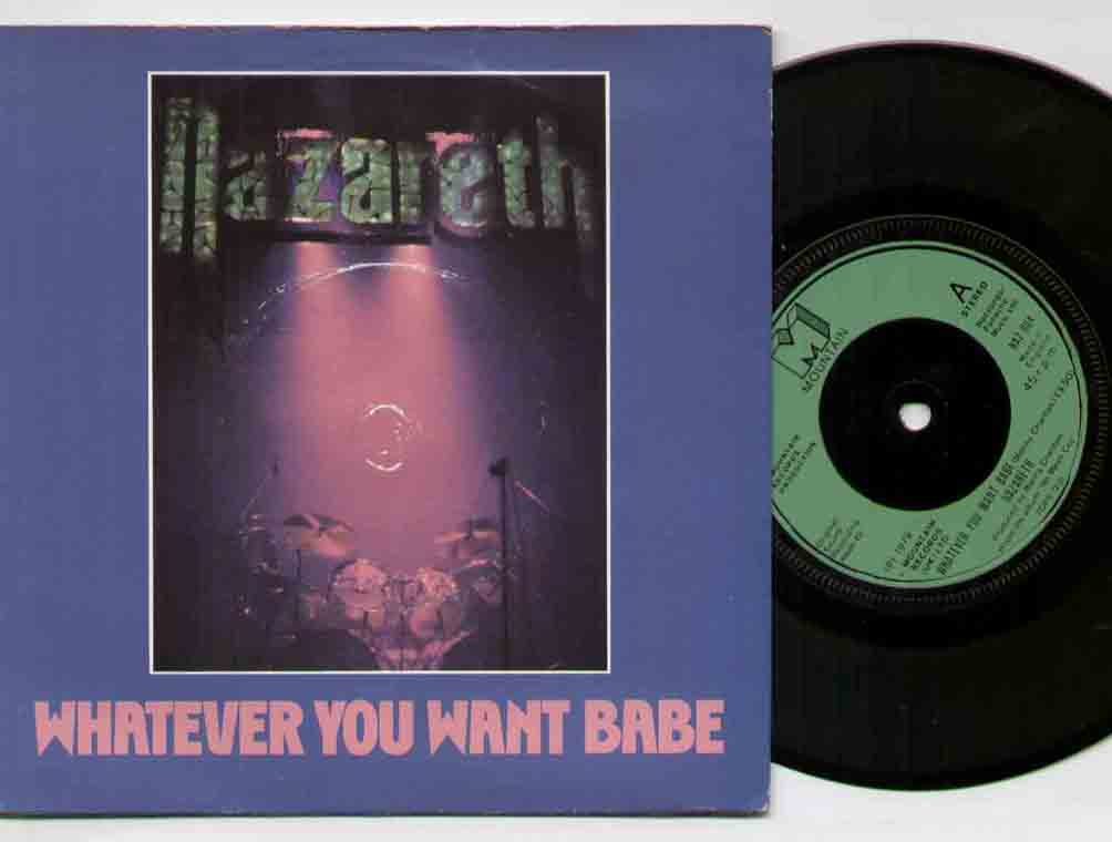 Nazareth - Whatever You Want Baby