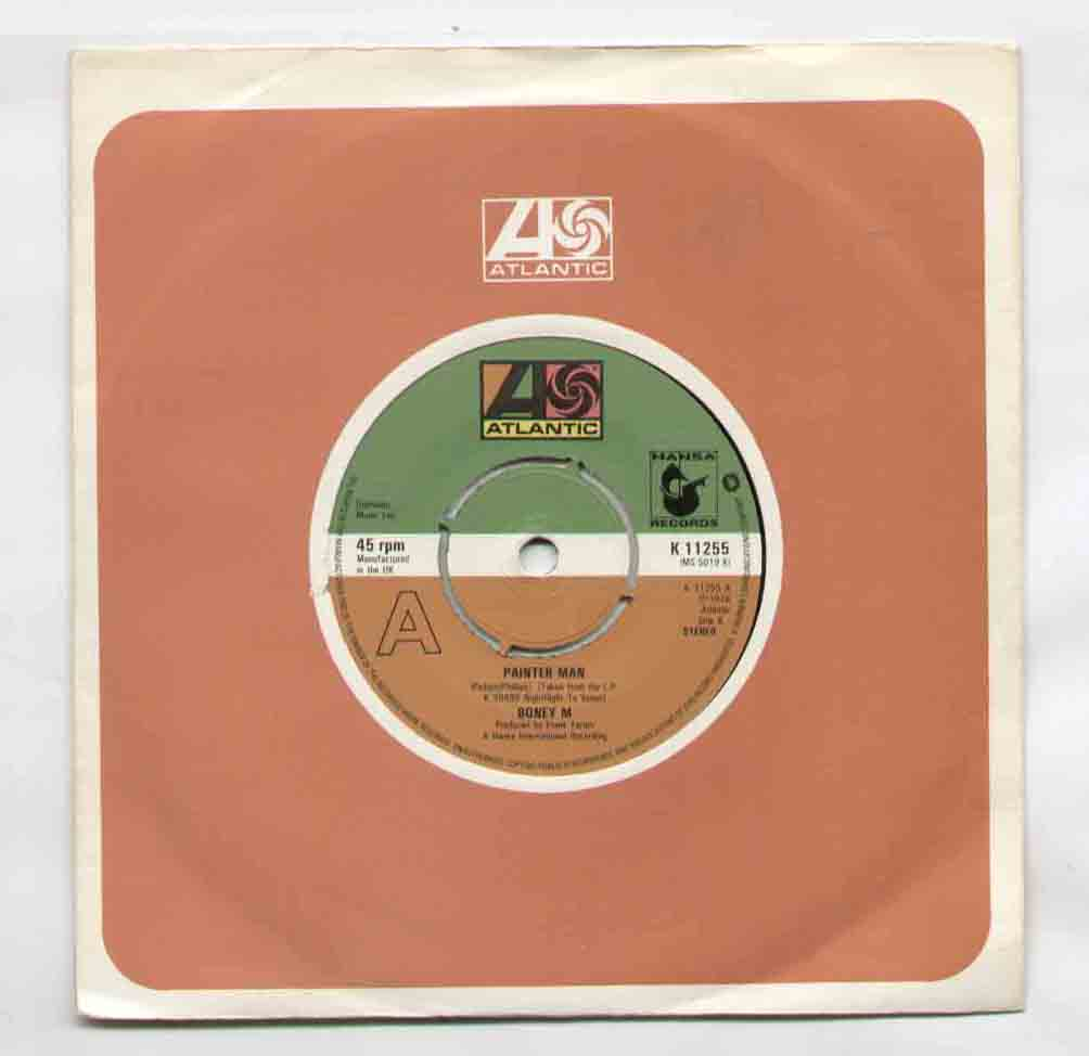 Boney M Painter+Man 7''