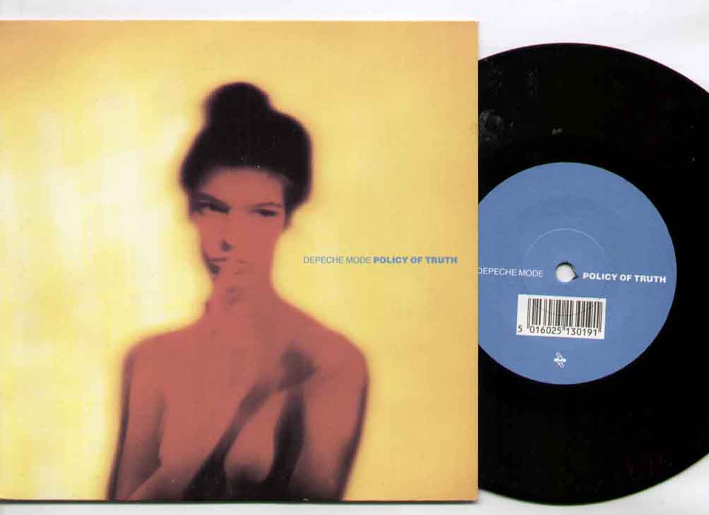 Depeche Mode Policy+Of+Truth 7''