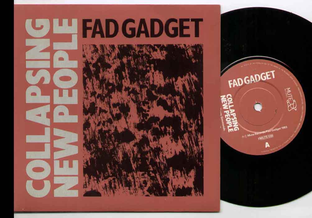 Fad Gadget Collapsing People 7''