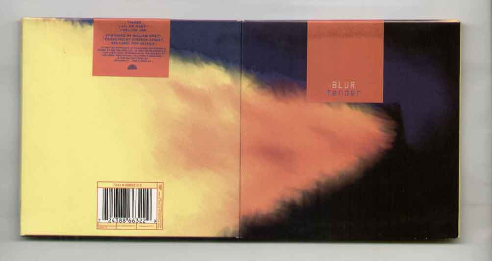 Blur - Tender ( 3 Track Gatefold Card Sleeve )