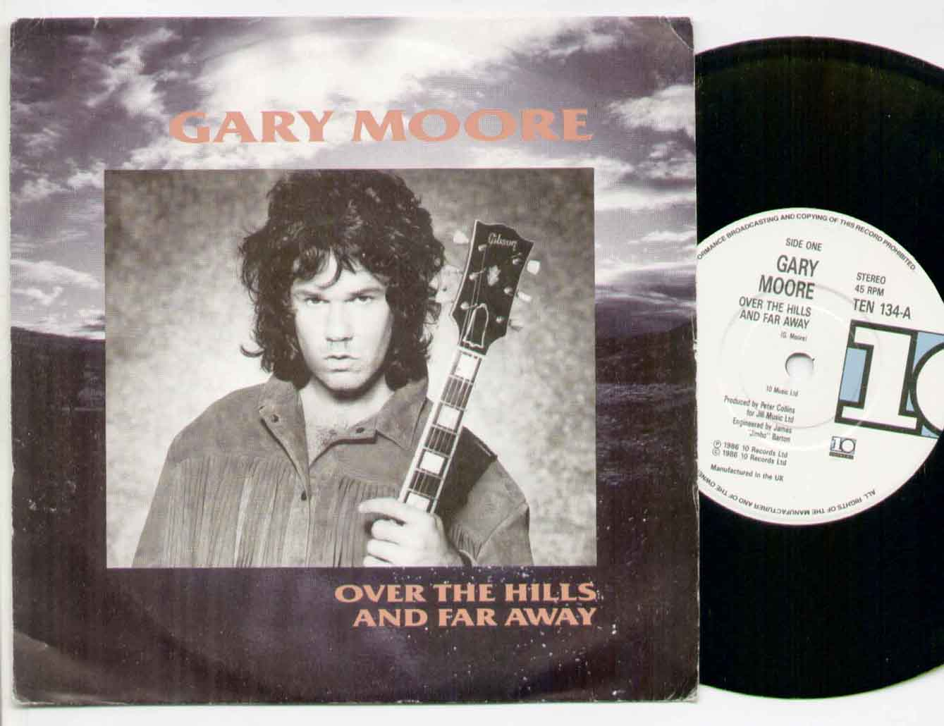 GARY MOORE - Over The Hills And Far Away Record