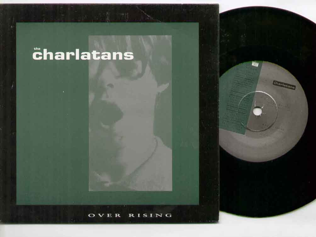Charlatans Over+Rising 7''