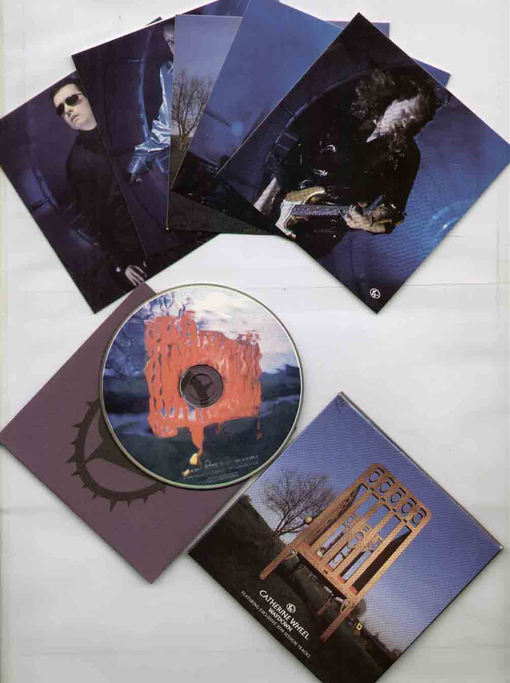 Catherine Wheel Waydown CD