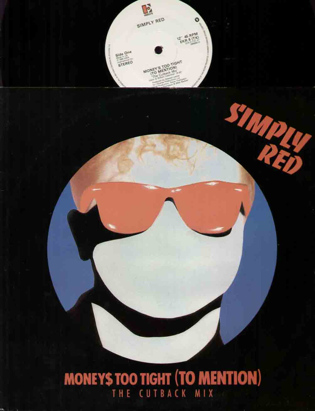 Simply Red Moneys+Too+Tight 12''