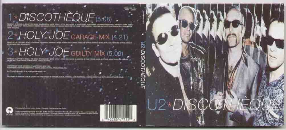 U2 - Discotheque Album