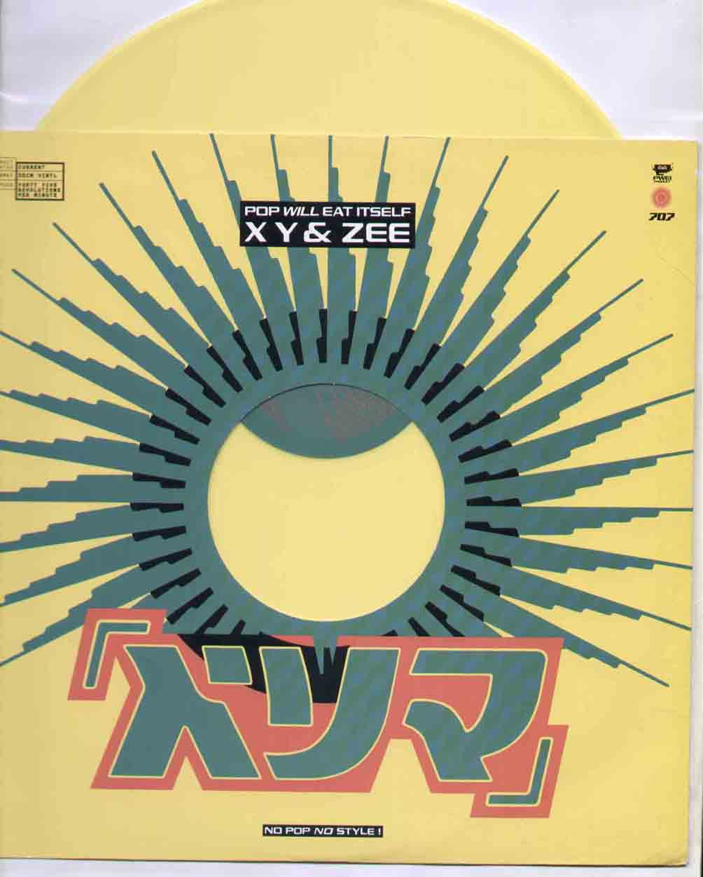 Pop Will Eat Itself Xy+And+Zee 12''