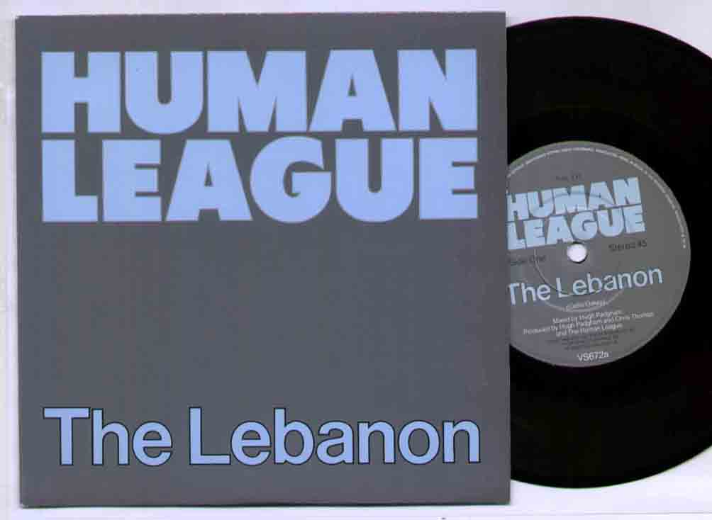 Human League Lebanon 7''
