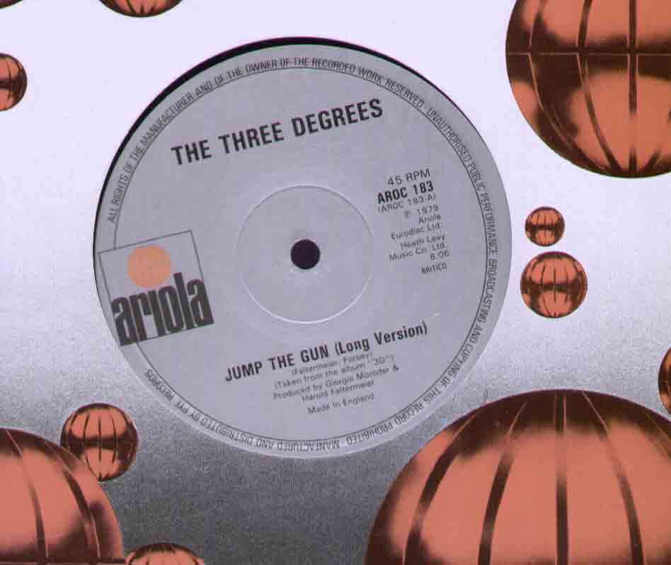 Three Degrees Jump+The+Gun 12''