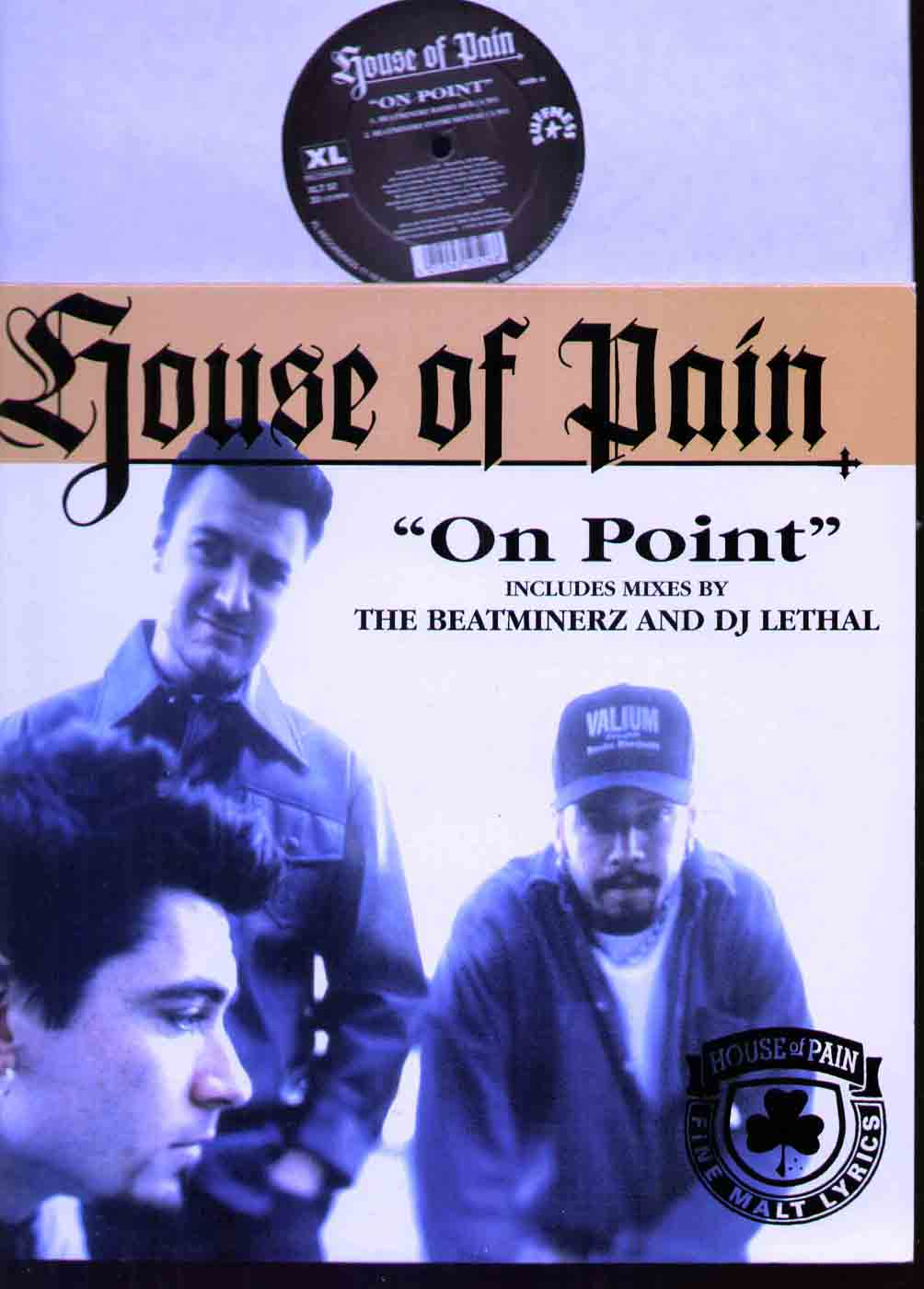 HOUSE OF PAIN - ON POINT - Maxi 45T