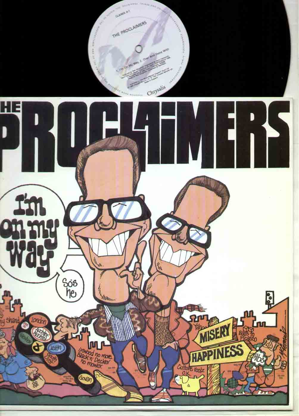 PROCLAIMERS - I'm On My Way Album