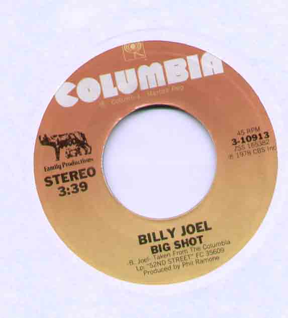 Big Shot - Billy Joel