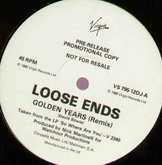 Loose Ends Golden+Years 12''