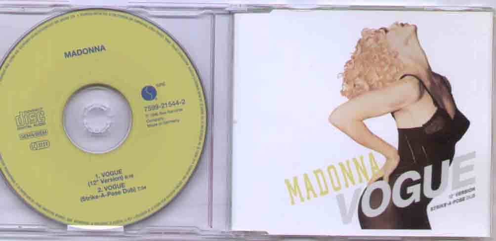 Madonna - Vogue Album
