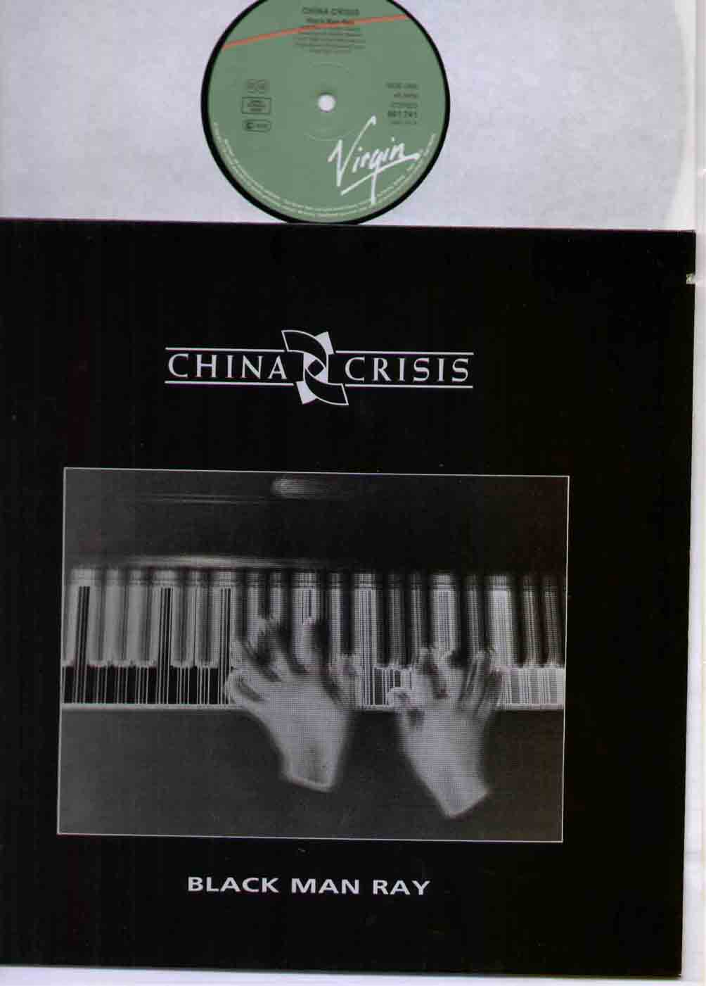 CHINA CRISIS - Black Man Ray EP