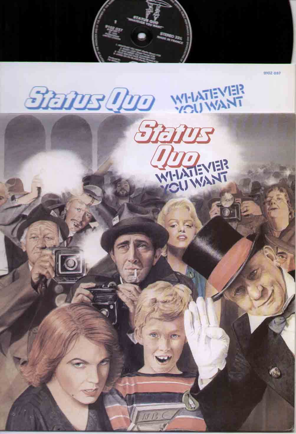 Status Quo Whatever+You+Want LP