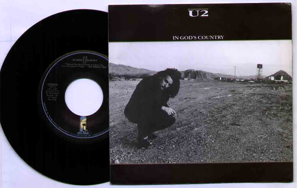 U2 - In God's Country / 7 Inch