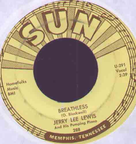 Jerry Lee Lewis Breathless 7''