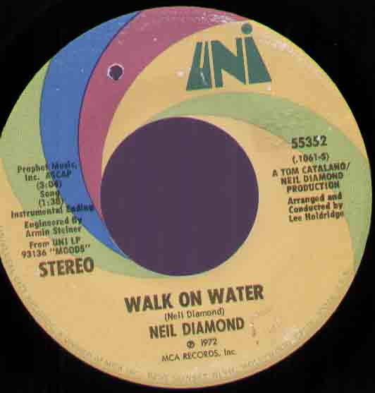 Neil Diamond - Walk On Water Album