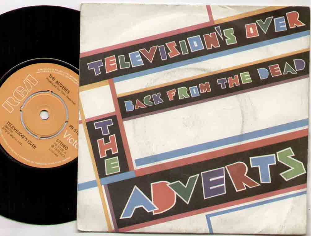 Adverts Television's+Over 7''