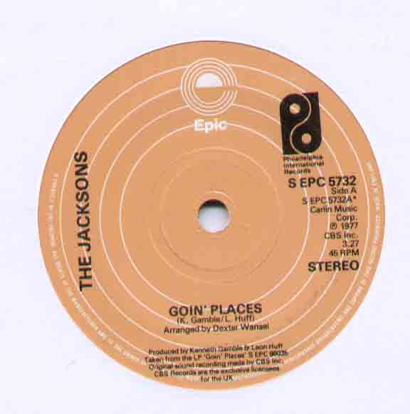 Jacksons Goin Places 7''