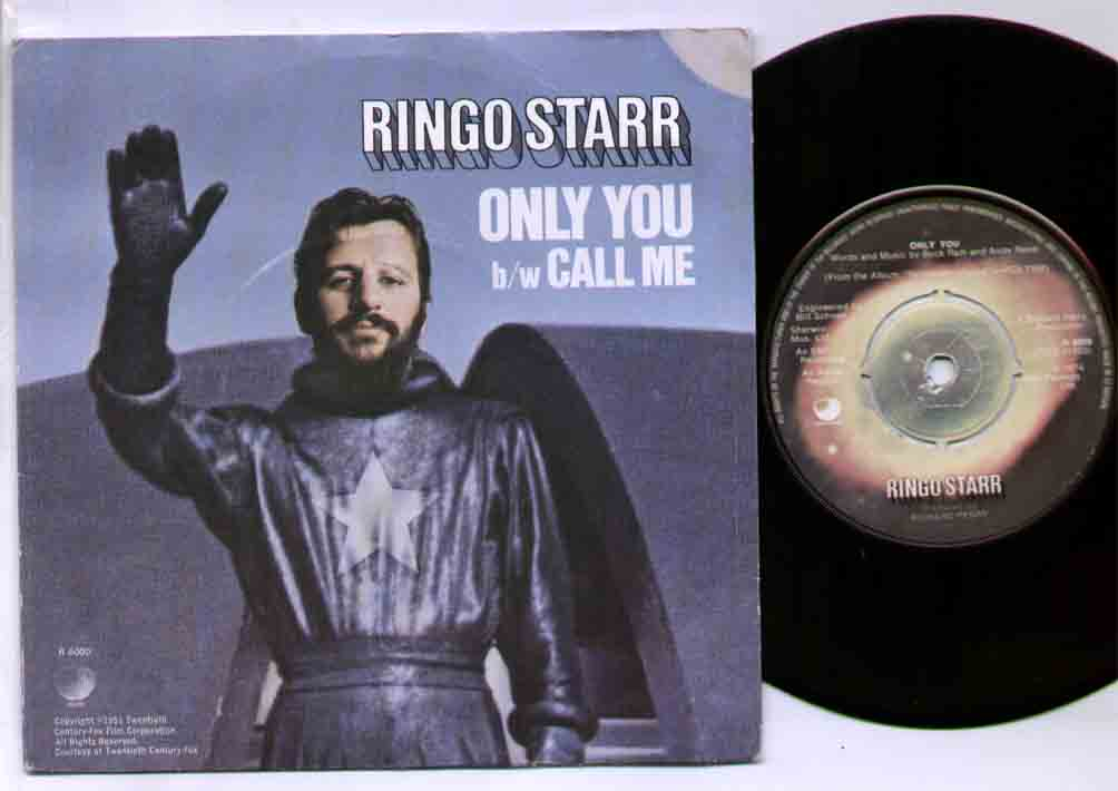 Ringo Starr Only+You 7''