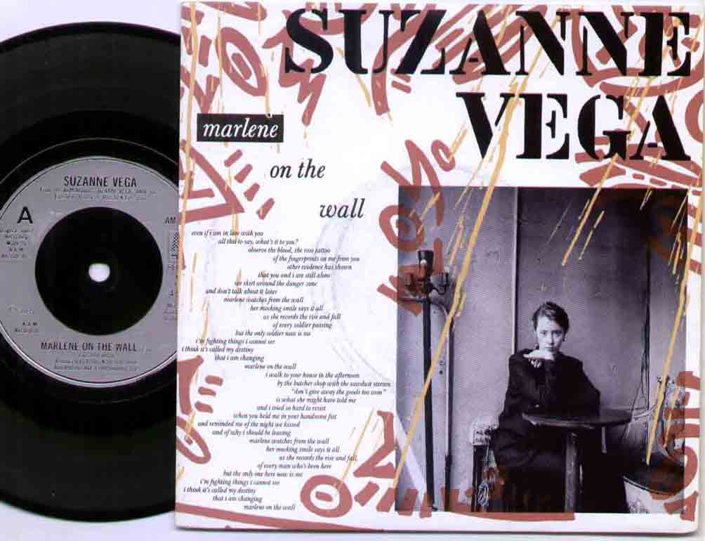 Suzanne Vega Marlene+On+The+Wall 7''