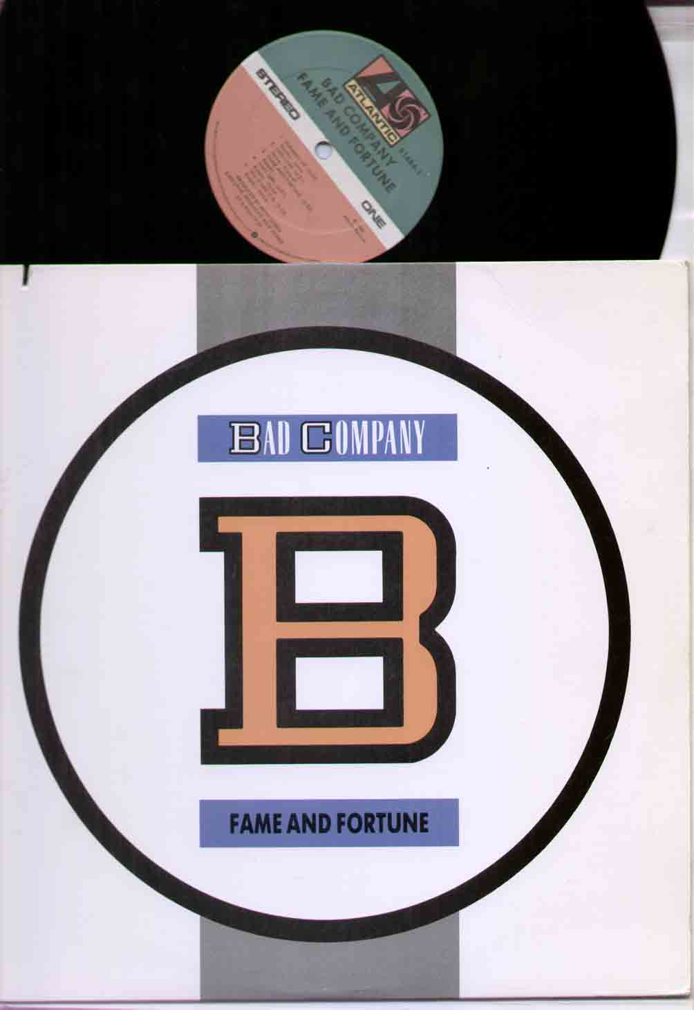 Bad Company - Fame And Fortune Single