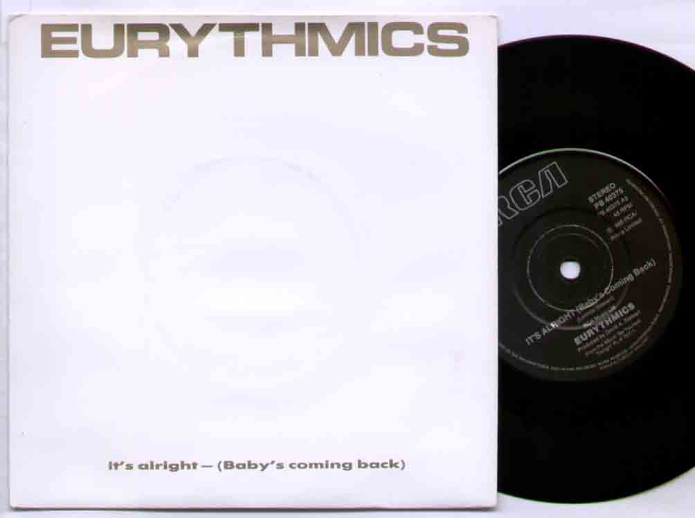 Eurythmics - It's Alright CD