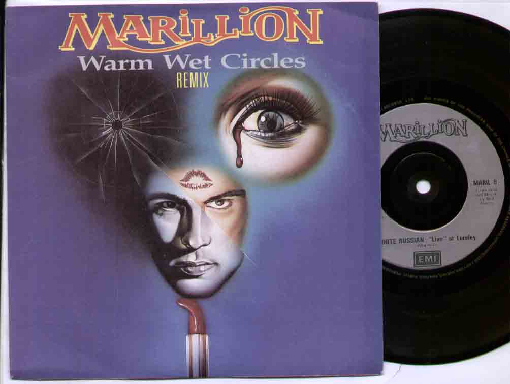 MARILLION - Warm Wet Circles Record
