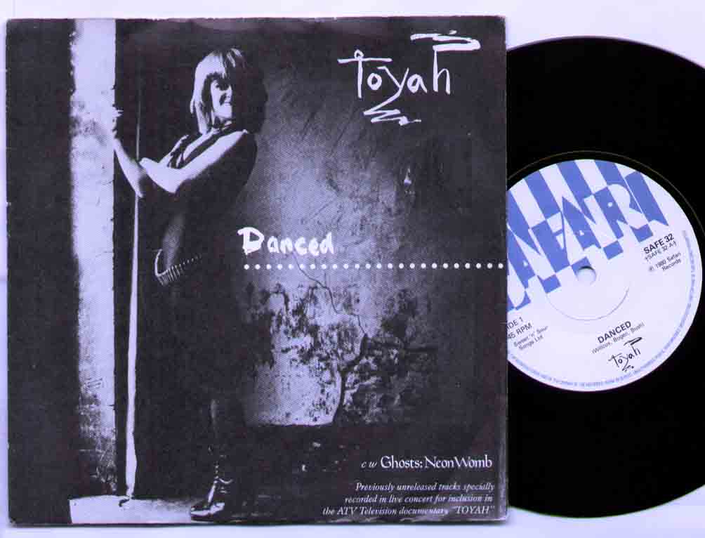 Toyah Danced 7''