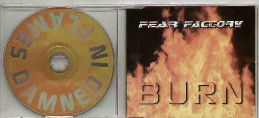Fear Factory Burn CD