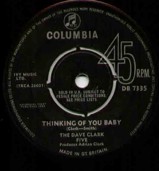 Dave Clark Five - Thinking About You