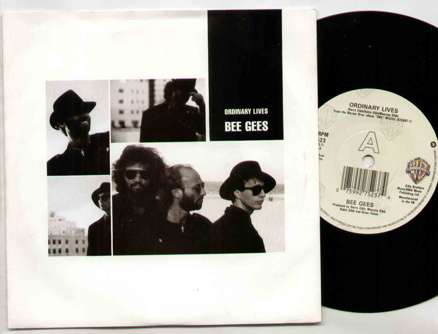 Bee Gees Ordinary+Lives 7''