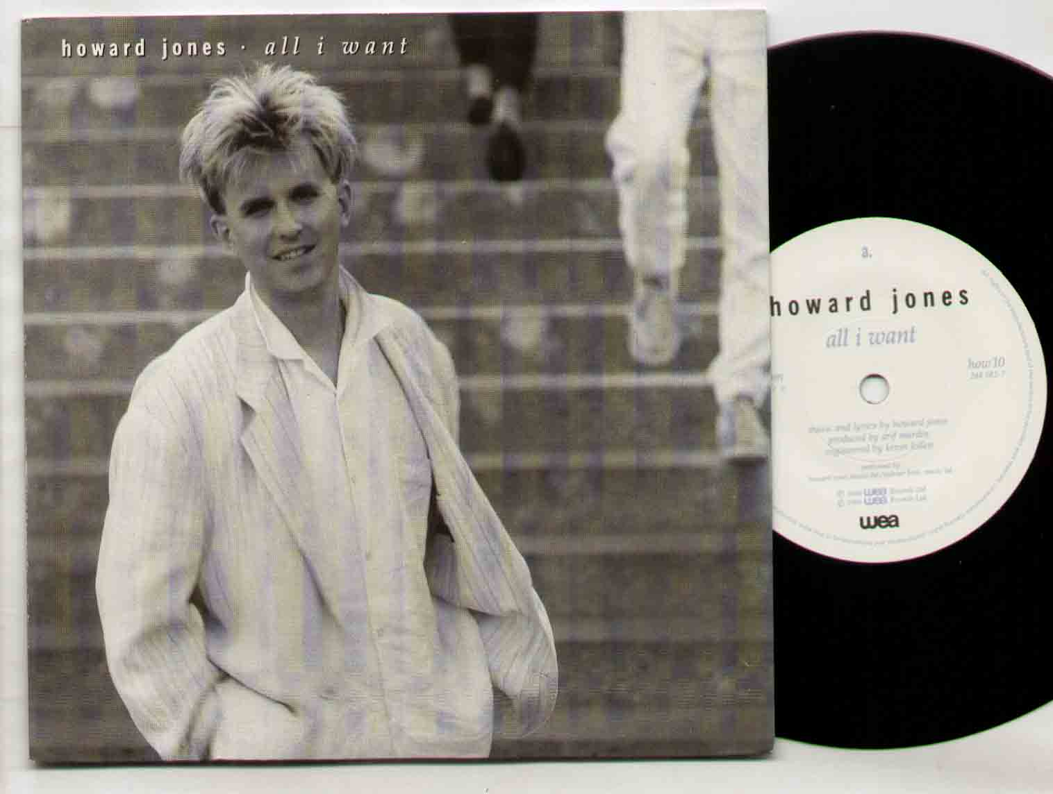 Howard Jones All+I+Want 7''