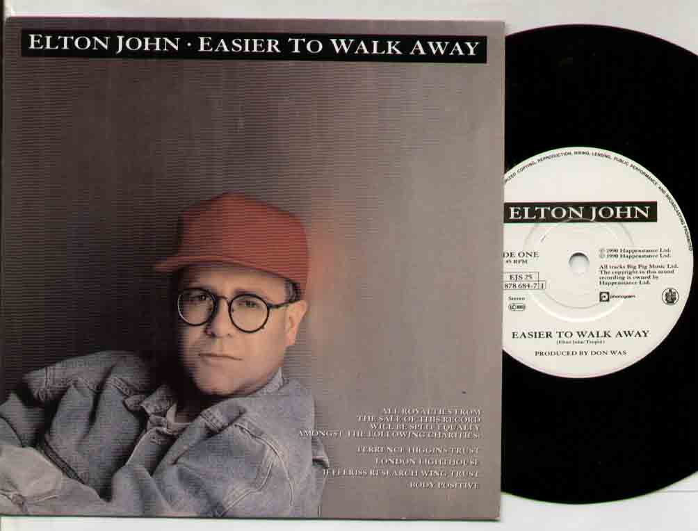 Easier To Walk Away - ELTON JOHN