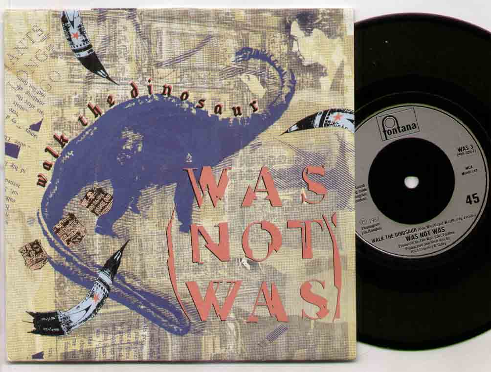 WAS NOT WAS - Walk The Dinosaur LP