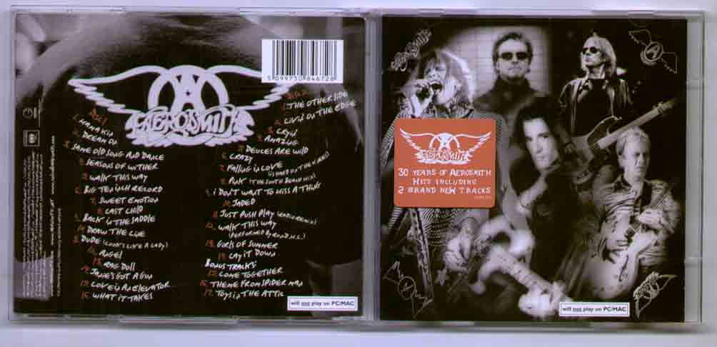 Aerosmith O+Yeah CD