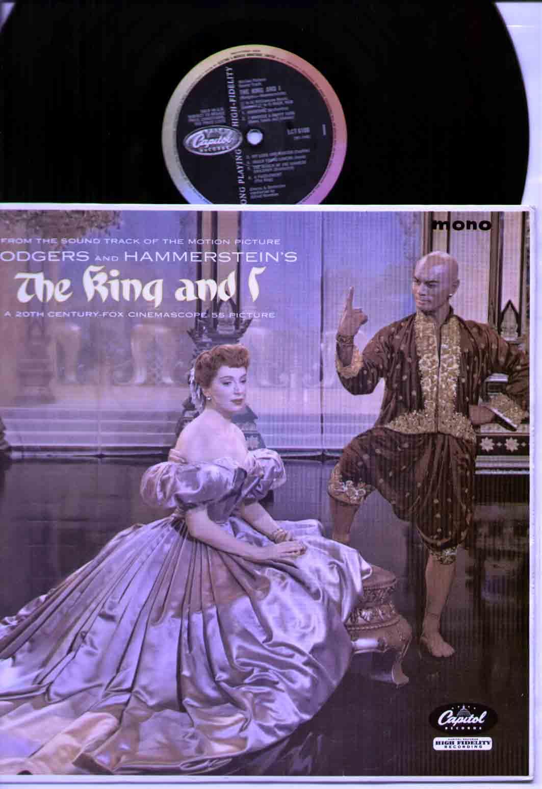 KING AND I SOUNDTRACK - mono original