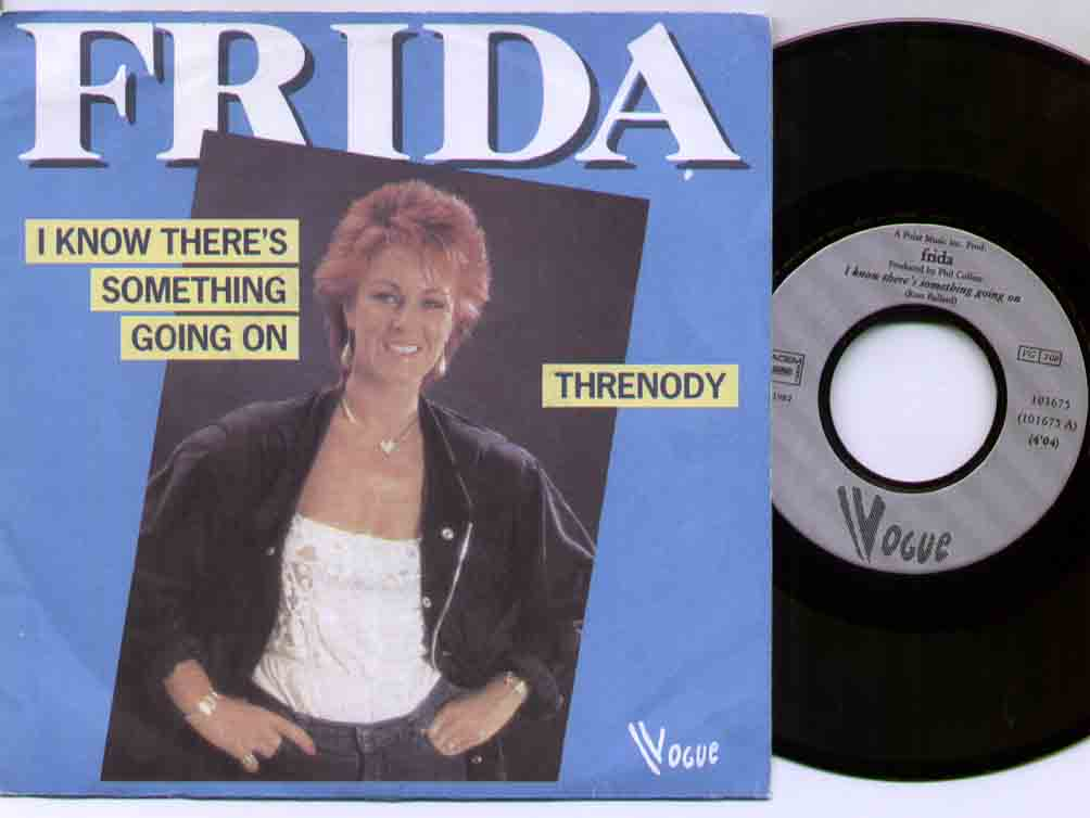 Abba - Frida / I Know There's Something Going On