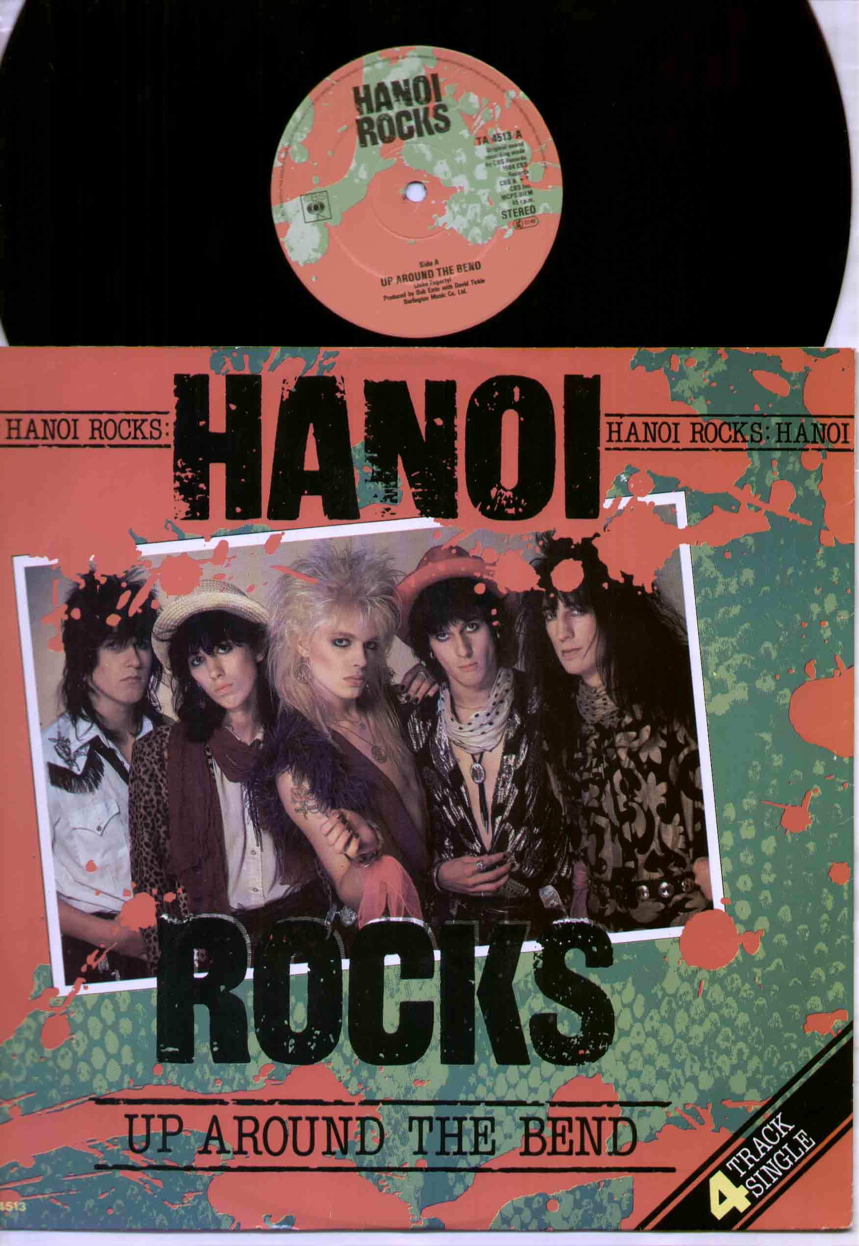 Hanoi Rocks - Up Around The Bend Record