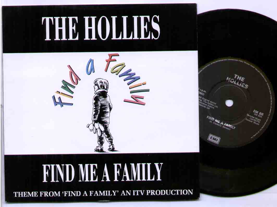 Hollies Find+A+Family 7''