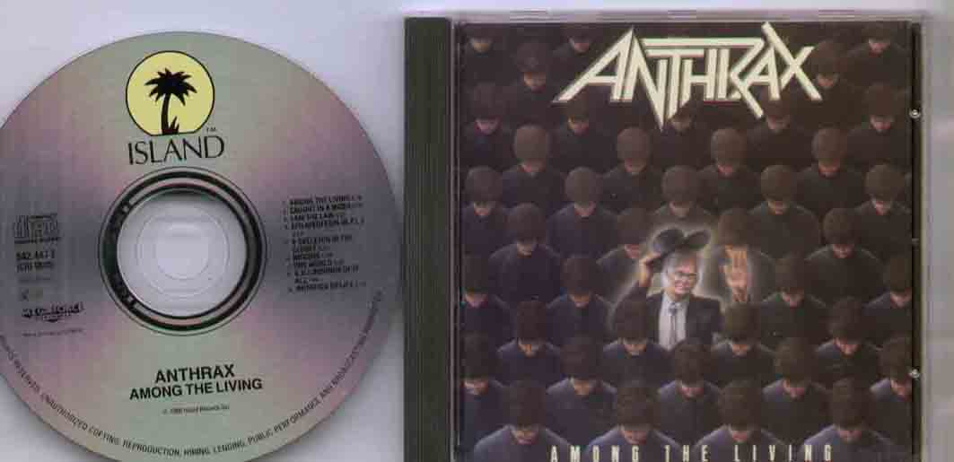Anthrax - Among The Living Record