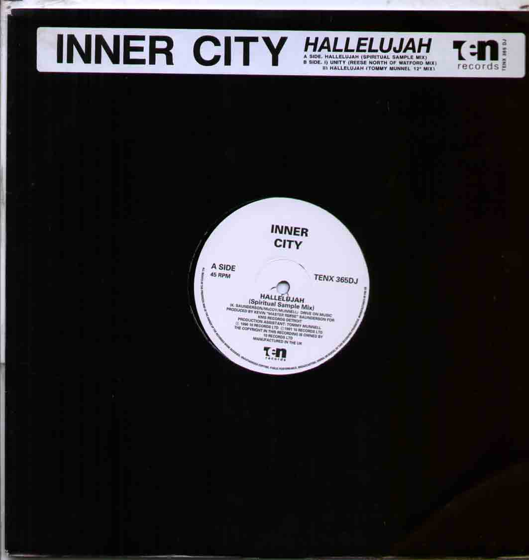 Inner City Hallelujah 12''