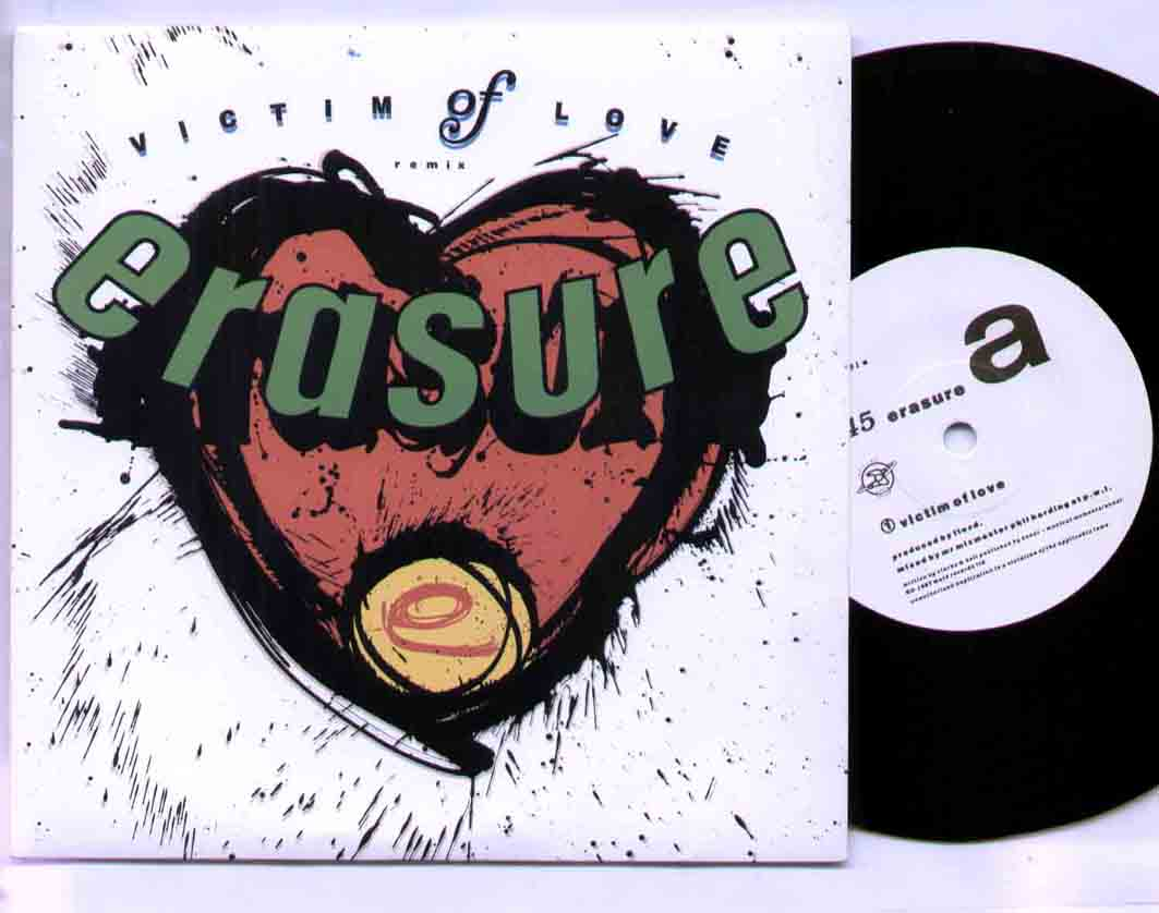Erasure - Victim Of Love Record