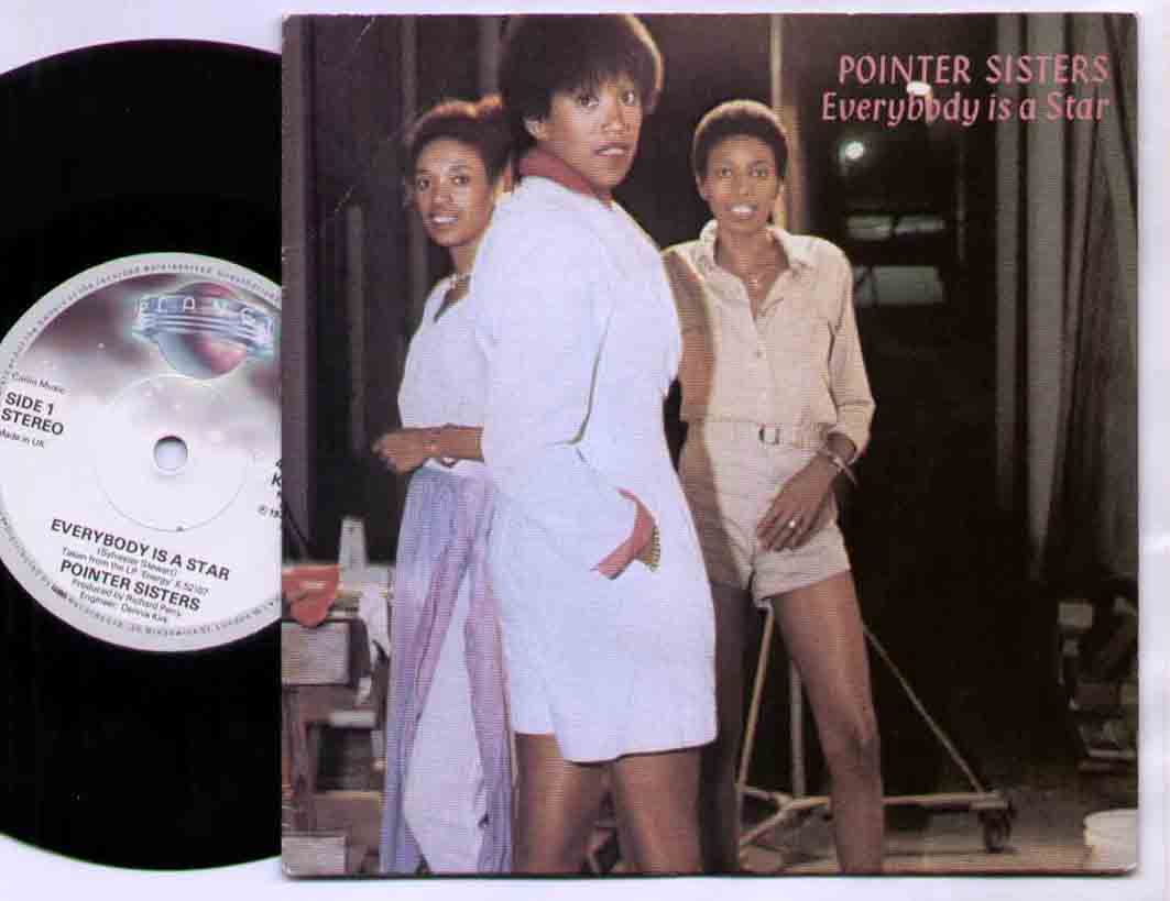 Pointer Sisters Everybody+Is+A+Star 7''