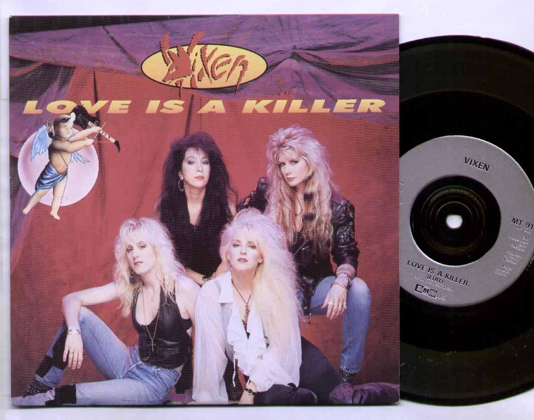 Vixen - Love Is A Killer Album