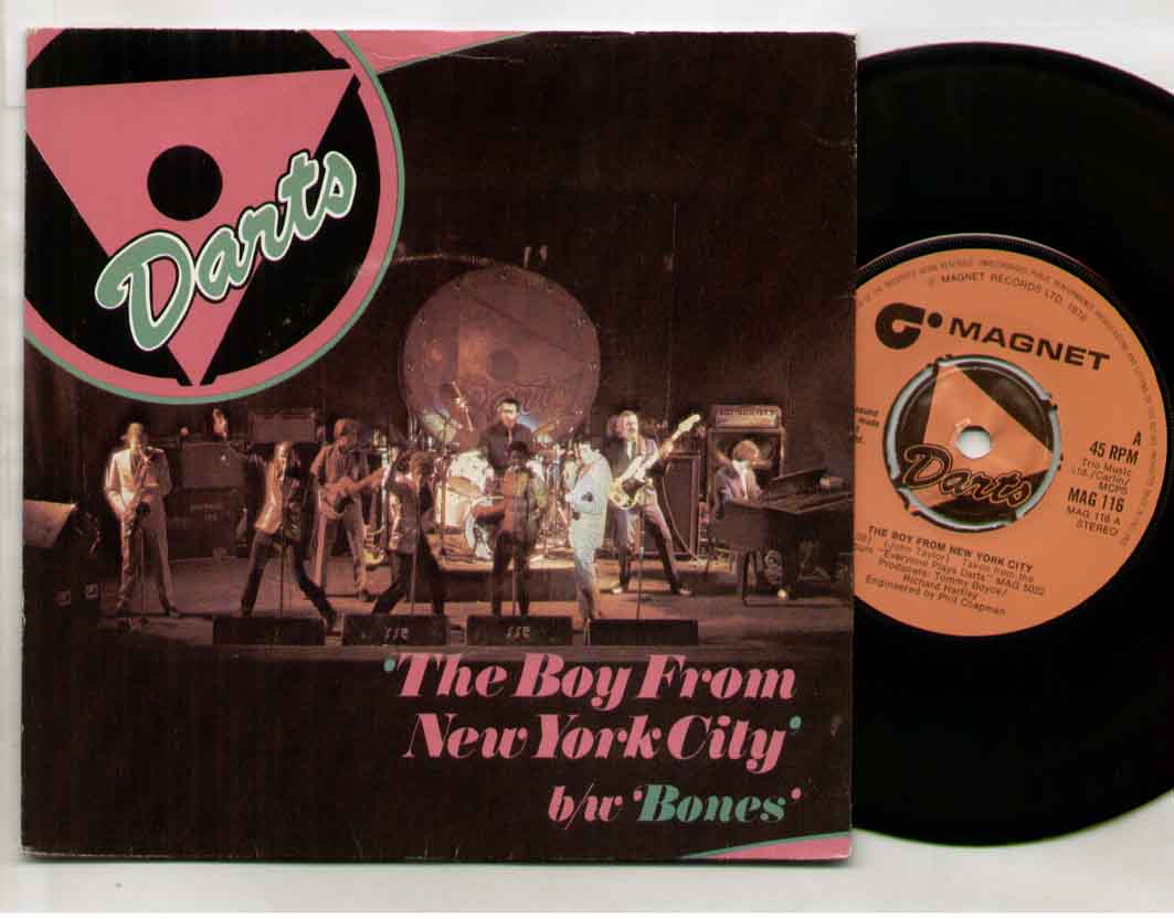 Darts The+Boy+From+New+York+City 7''