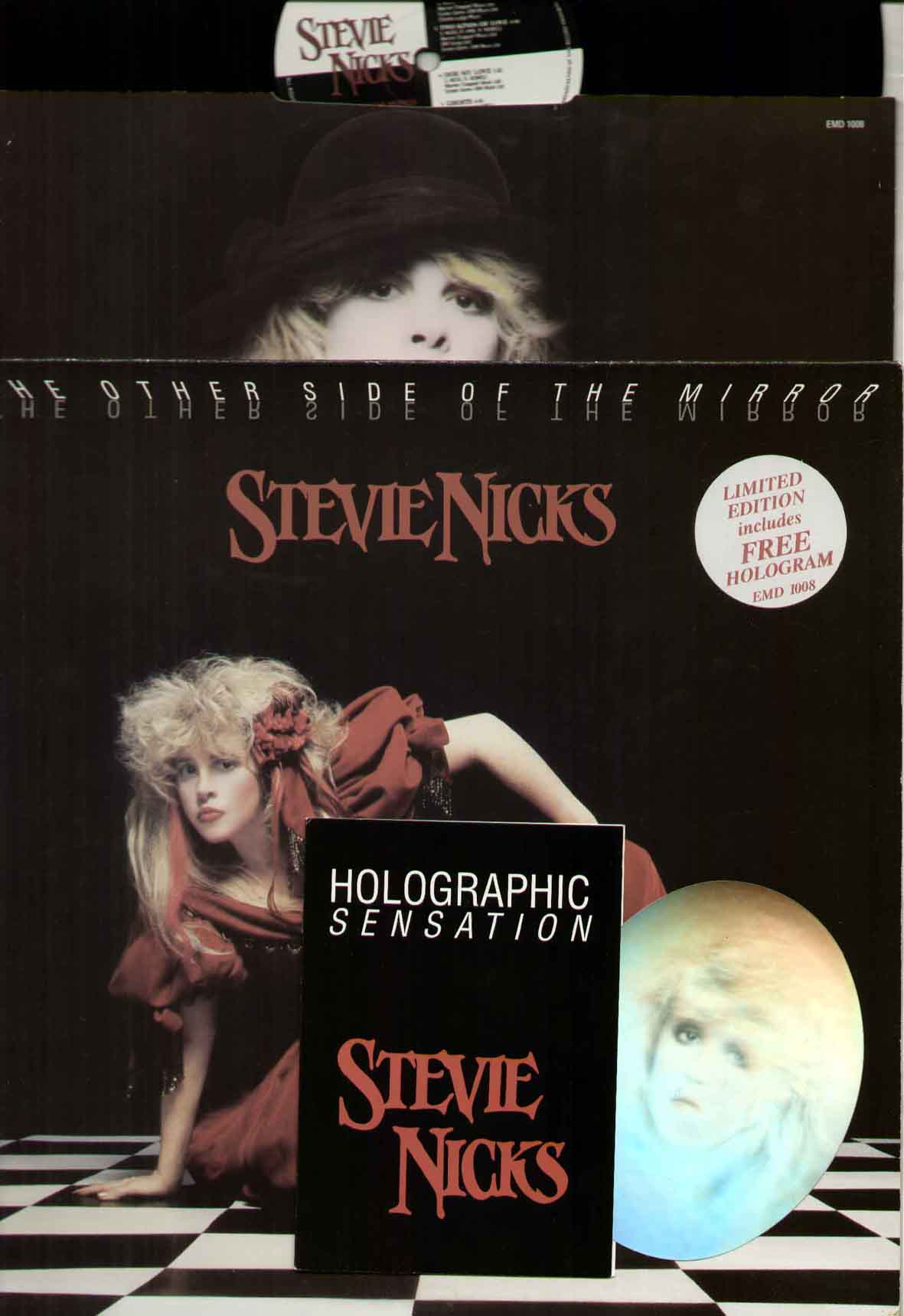 Stevie Nicks The Other Side Of The Mirror Records Vinyl